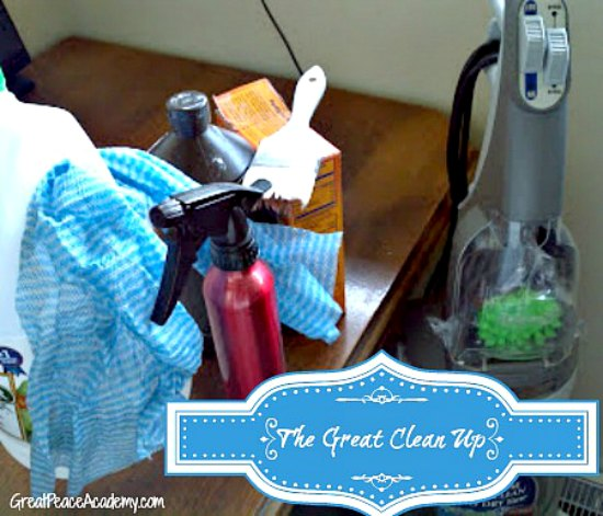 The Great Cleanup: Spring Cleaning | Great Peace Academy