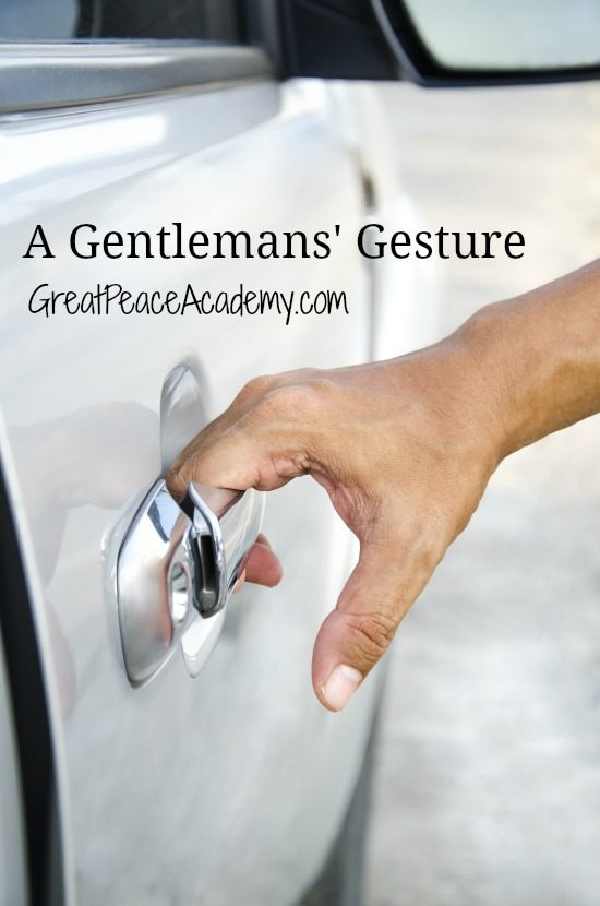 Training up a gentleman, with a gentleman's gesture: Great Peace Academy