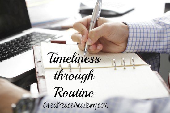 Timeliness through routine, book review of 28 Days to Timeliness. | Great Peace Acdemy