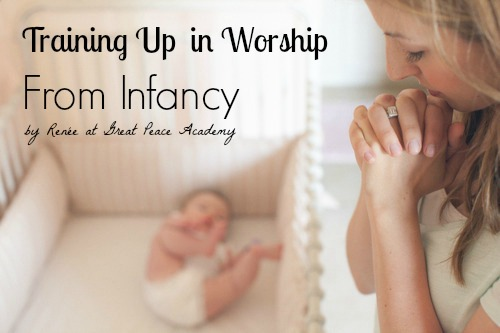 Training up a child in worship from infancy. | Great Peace Academy
