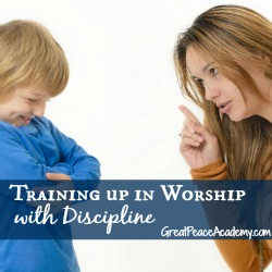 Training up in worship with discipline.   Great Peace Academy