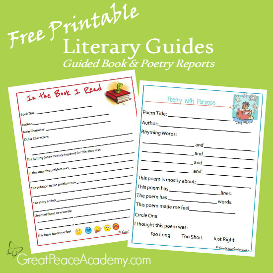 image relating to Homeschool Grade Book Free Printable called Homeschool Literary Publications Obtain - Renée at Superb Rest