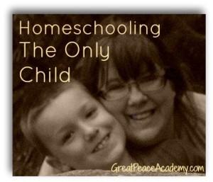 homeschooling an only