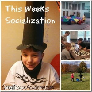 This Weeks Socialization