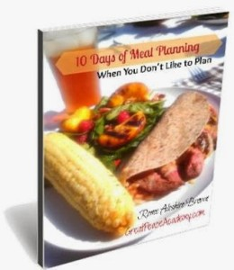 10 Days of Meal Planning