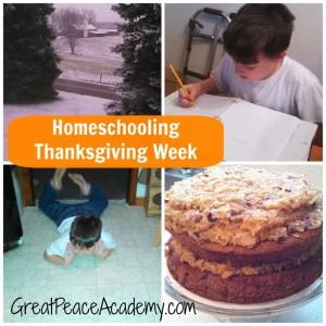 Thanksgiving week