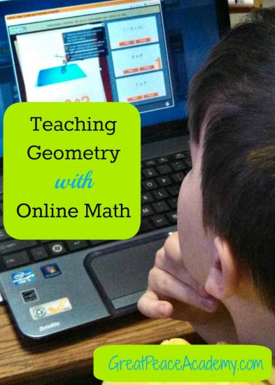OnlineGeometry Instruction with Uzinggo | GreatPeaceAcademy.com #ihsnet