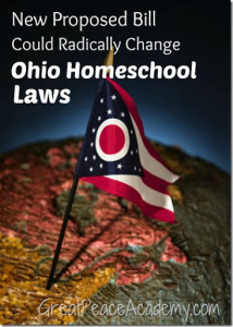 Possible Radical Change for Ohio Homeschool Law