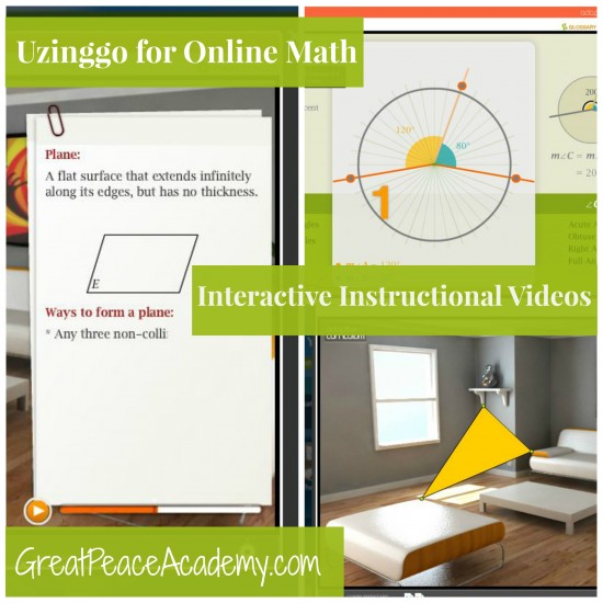 Online Math Instruction with Uzinggo | GreatPeaceAcademy.com #ihsnet