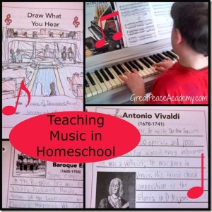 Music in Homeschool