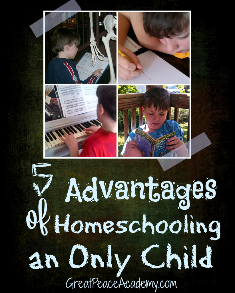 5 Advantages of Homeschooling Your Only Child,