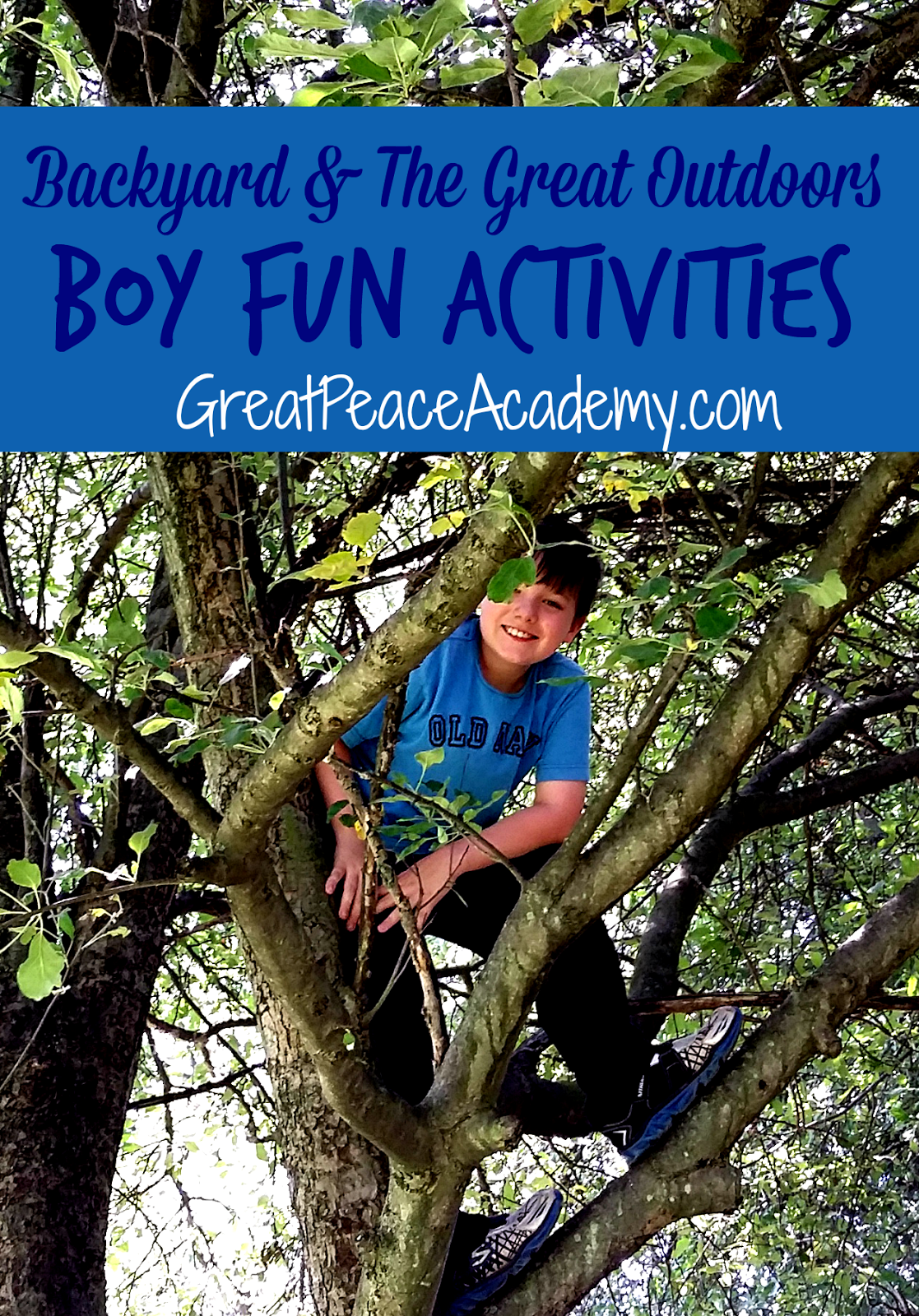 Backyard Fun for Boys
