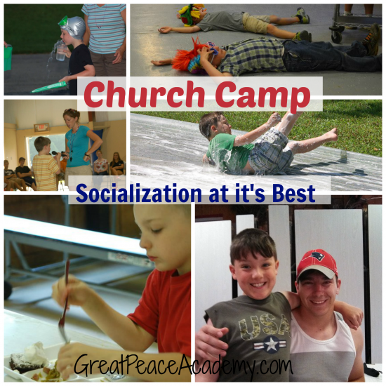 Church camp for faith, fun, fellowship and socialization! at Great Peace Academy