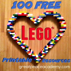 Free Lego Printable Resources | Great Peace Academy