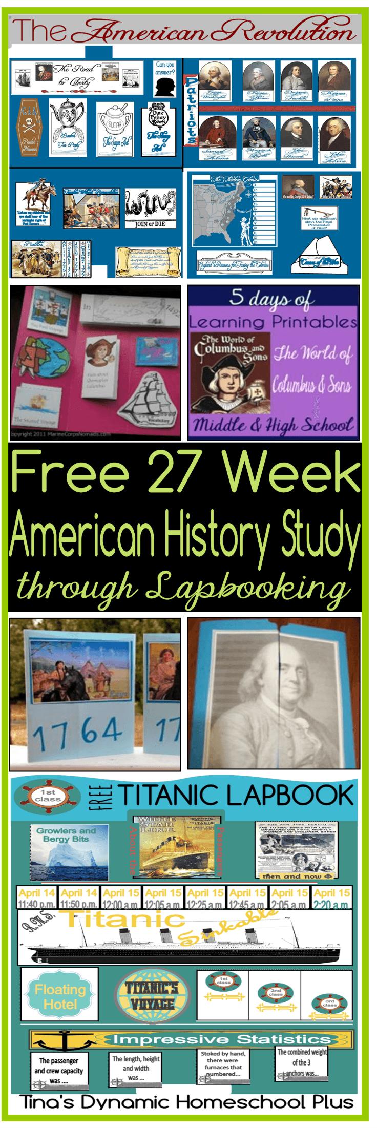 Free-27-Week-American-History-Study-through-Lapbooking-In-Chronological-Order-@-Tinas-Dynamic-Homeschool-Plus