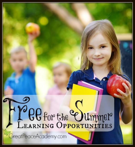 Free for the Summer Learning Opportunities | Great Peace Academy