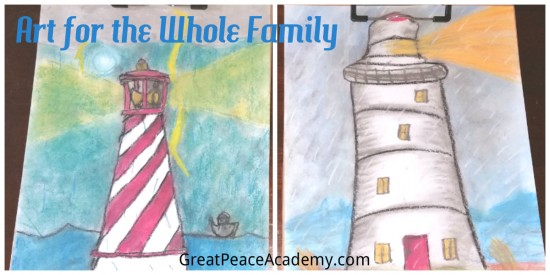 Art in Homeschool for the Whole Family with You ARE an Artist Curriculum | Great Peace Academy