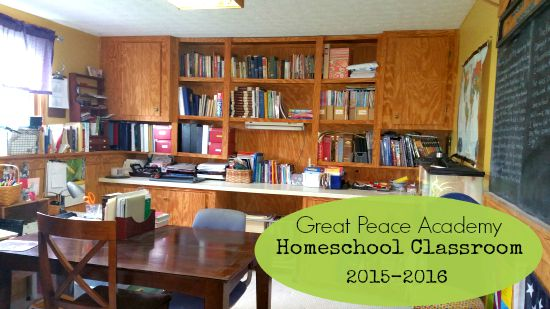 Homeschool Class room 2016-2016 at Great Peace Academy
