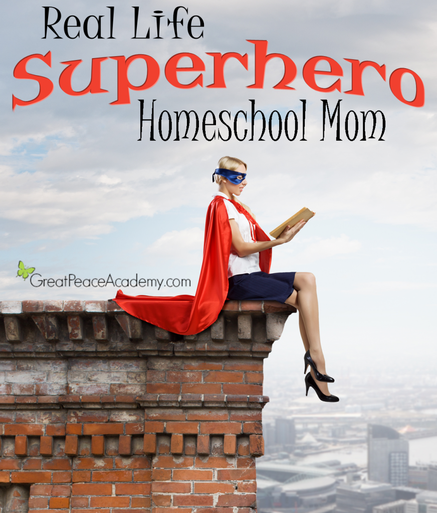 Real Life Superhero Homeschool Mom, Meet Fee. | Great Peace Academy