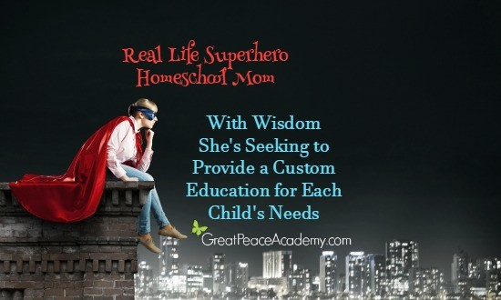Real Life Superhero Homeschool Mom She's Seeking to Provide a Custom Education for Each Child | Great Peace Academy