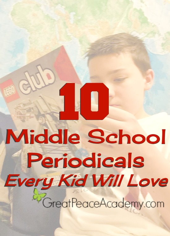 10 Middle School Periodicals you should Subscribe to. | Great Peace Academy