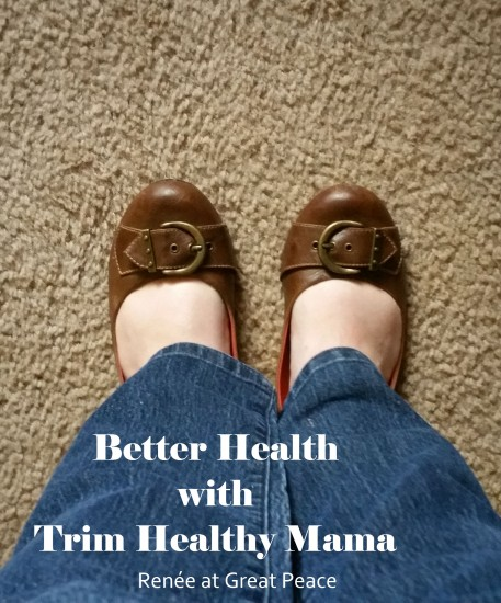 How I'm Seeing Better Health with #TrimHealthyMama | Renée at Great Peace Academy