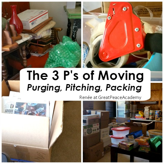 The 3 P's of preparing for moving for a relocation | Renée at GreatPeaceAcademy